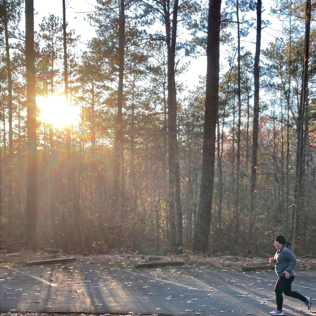 running-woods